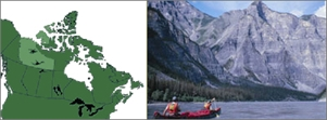 Nahanni National Park Reserve of Canada
